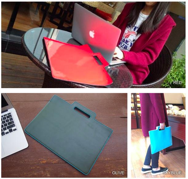 MacBookAirによく似合うシンプルなデザイン